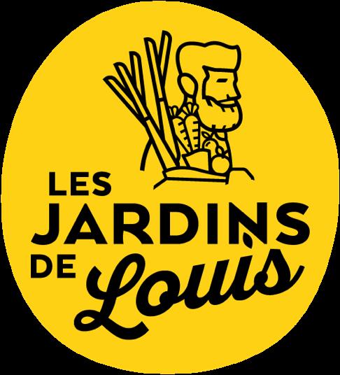 logo Les jardins de Louis, fruits et légumes
